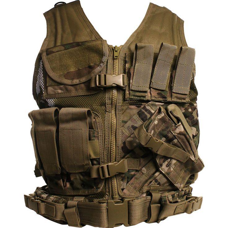 MultiCam (OCP) Cross Draw Tactical Vest – USAMM