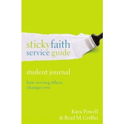 Want to make a difference in the world? Here's help. The Sticky Faith Service Guide, Student Journal will equip you to serve others and create lasting change—both in you and in those you serve.