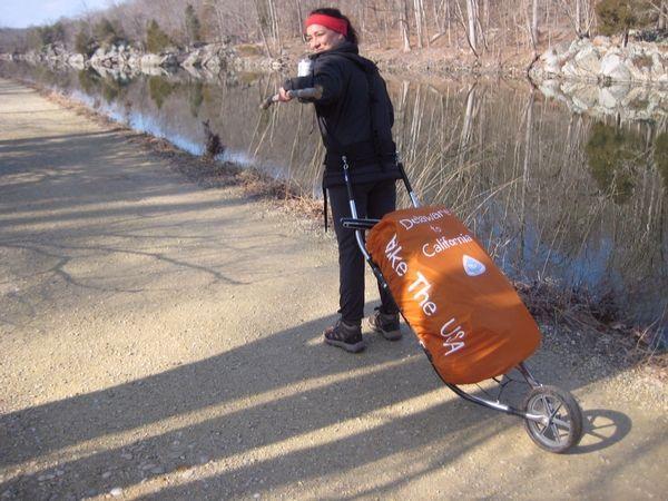 dixon rollerpack Bike Trailer Cargo Bug Out Hunting Backpack