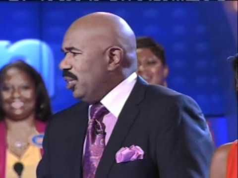 Steve harvey family fued