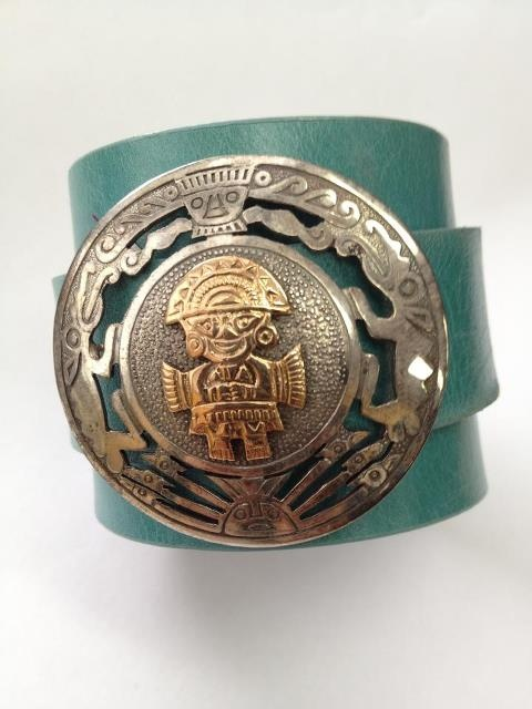 Vintage S/S Mexican Leather Cuff