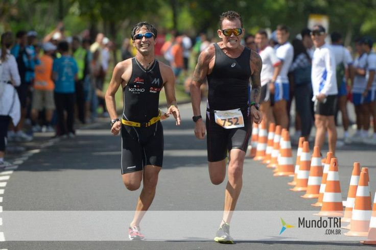 Chegada sensacional Rio-Triathlon