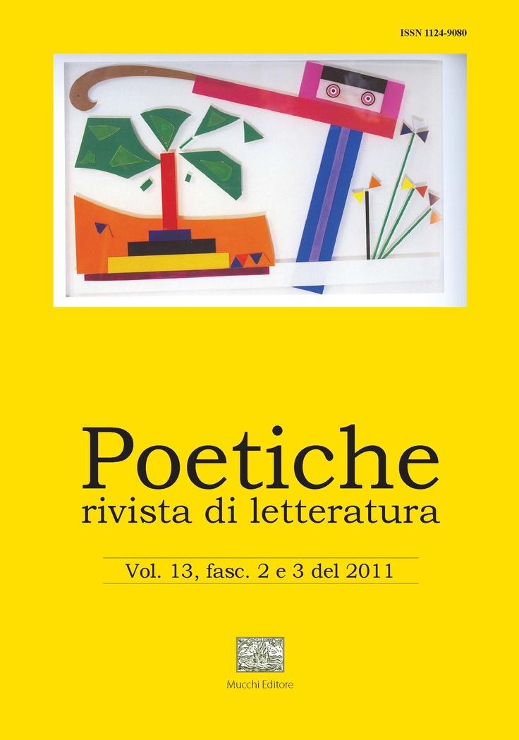 """Rivista di letteratura """"Poetiche"""""""