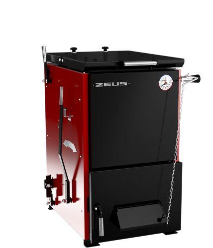 Котёл стальной отопительный Zeus 32 кВт (Термокрафт) на печном складе ФЛАММА    КОТЕЛ твердотопливный ZEUS («Зевс») 32 кВт   Регулятор тяги в комплекте!!!      КОТЕЛ твердотопливныйугольный полуавтоматический ZEUS («Зевс»)   Стальные полуавтоматические котлы «ZEUS» предназначены для отопления жилых и производственных помещений площадью от 65 до 600 кв.м., оборудованных системами водяного отопления с естественной или принудительной циркуляцией.      Отличительные преимущества:    …