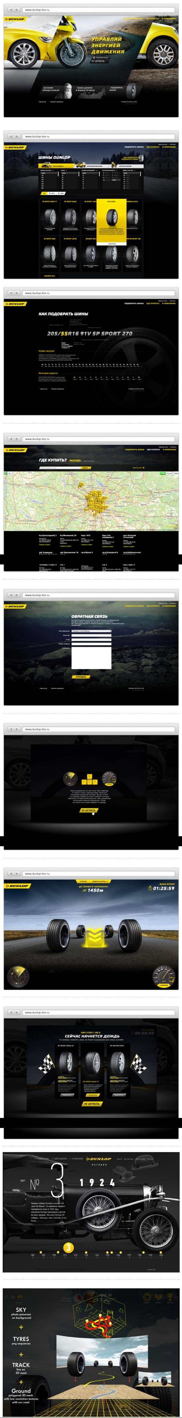 http://en.dunlop-tire.ru/  Really interesting in light of Michelin