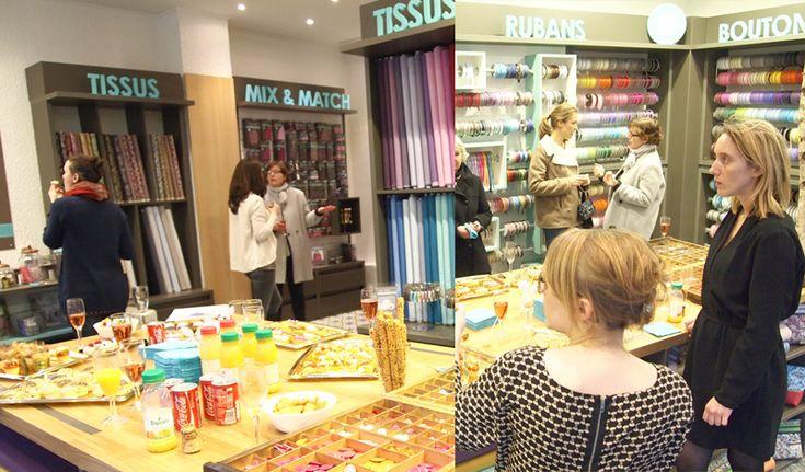 La boutique Frou-Frou Mercerie Contemporaine Rive gauche Paris 31 rue Saint Placide