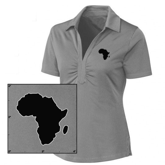 Oldschool Lady / Girl Polo Africa  Oxydo