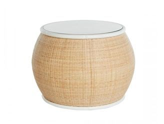 Tropica Rattan Bedside Table - Online Store - Kristy Lee Interiors