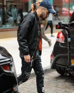 Zayn Malik Wears Tour Merch Arabic Military Jacket in NYC     UpscaleHype
