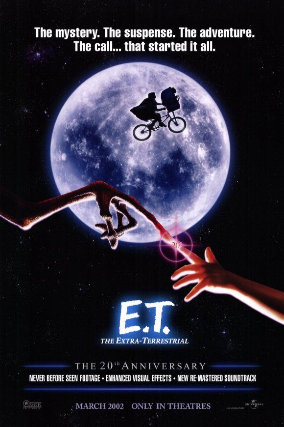 """""""Elliot: You could be happy here, I could take care of you. I wouldn't let anybody hurt you. We could grow up together, E.T. """"Film, Movie Posters, 20Th Anniversaries, Extra Terrestrial, Childhood Memories, Steven Spielberg, E T, Favorite Movie, Extraterrestrial"""