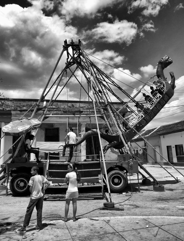 San antonio cuba black and white travel photography
