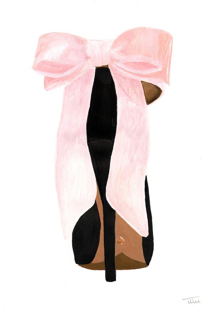 artbytiiu:  Kate Spade shoe illustration by Tiiu