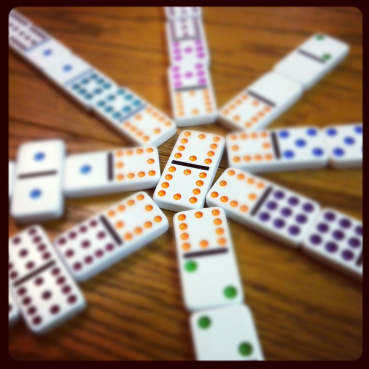 dominoes mexican train BBW My2Scents Lifestyle Collage