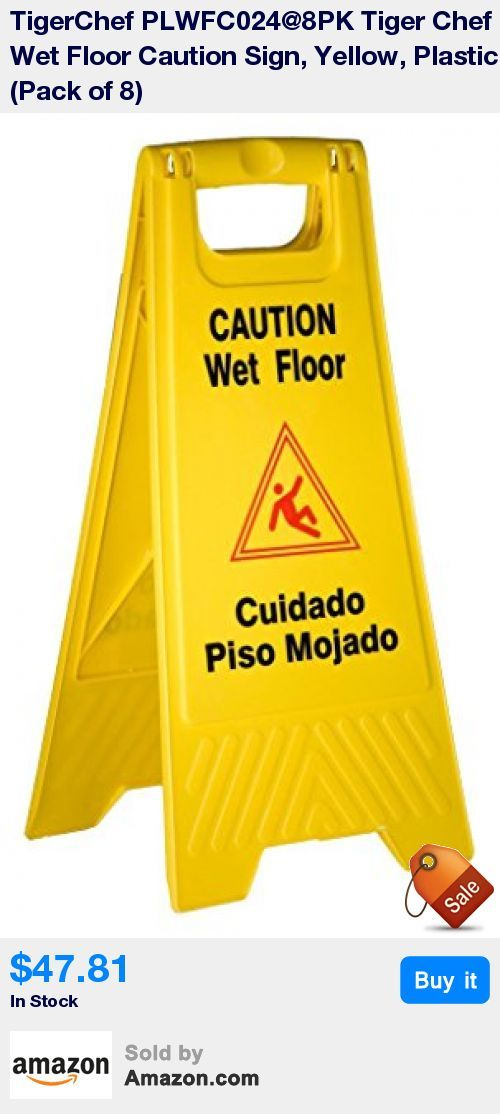 Prevent Injuries: These Yellow Wet Floor Signs Alert Patrons With Safety  Warning In Graphics And Text In English And Spanish * Two Sided: 25X 12for  Use In ...