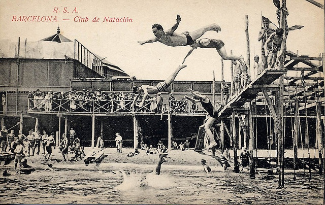 Club de Natación, Barcelona by jordipostales, via Flickr