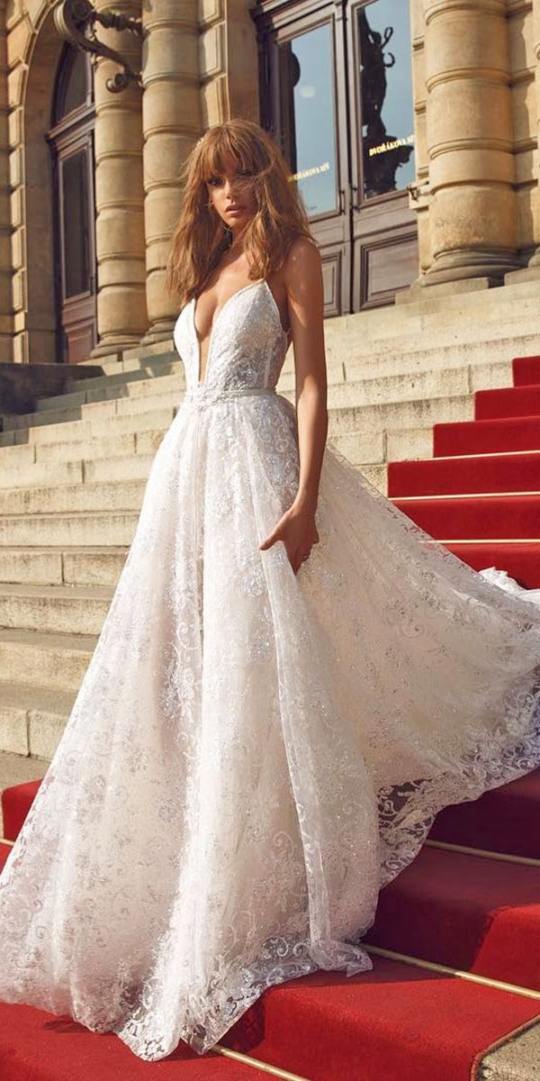 27 Unique & Hot Sexy Wedding Dresses ❤ See more: http://www.weddingforward.com/sexy-wedding-dresses-ideas/ #wedding #dresses #sexy