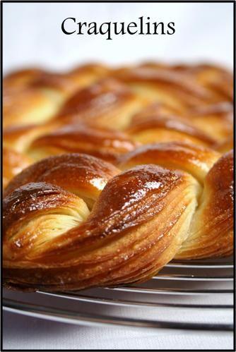 Les craquelins de Manue (pâte feuilletée levée sucrée et tressée) - La popotte de Manue Plus
