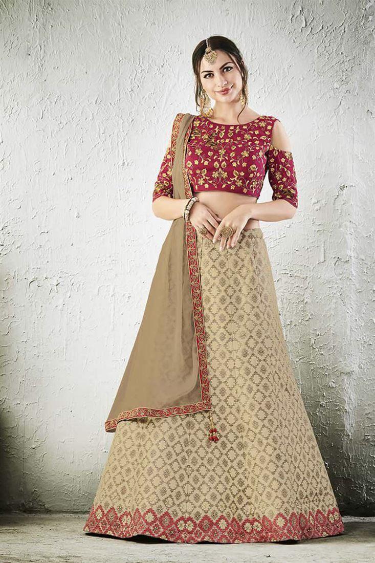 Women's Clothing Popular Brand Wedding Wear Designer Lehenga Indian Latest Saree Bollywood Lengha Choli Set New