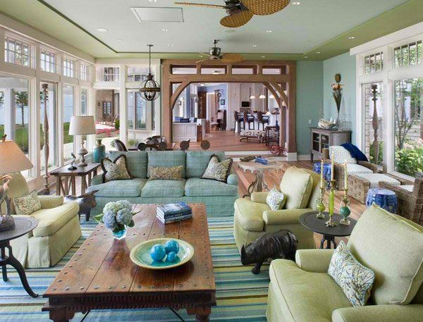 Marvelous 15 Traditional Tropical Living Room Designs