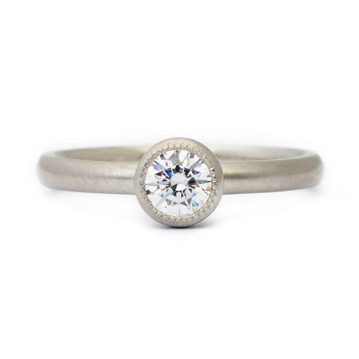 Clara Engagement Ring #engagementring #vintagering #alternativebridal #diamondring #annesportun #preciouseveryday #vintagebridal