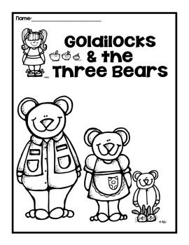 FREE Goldilocks and the Three Bears Bears Pinterest