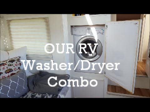 Our RV Washer Dryer Combo: how we installed it and how we operate it - YouTube