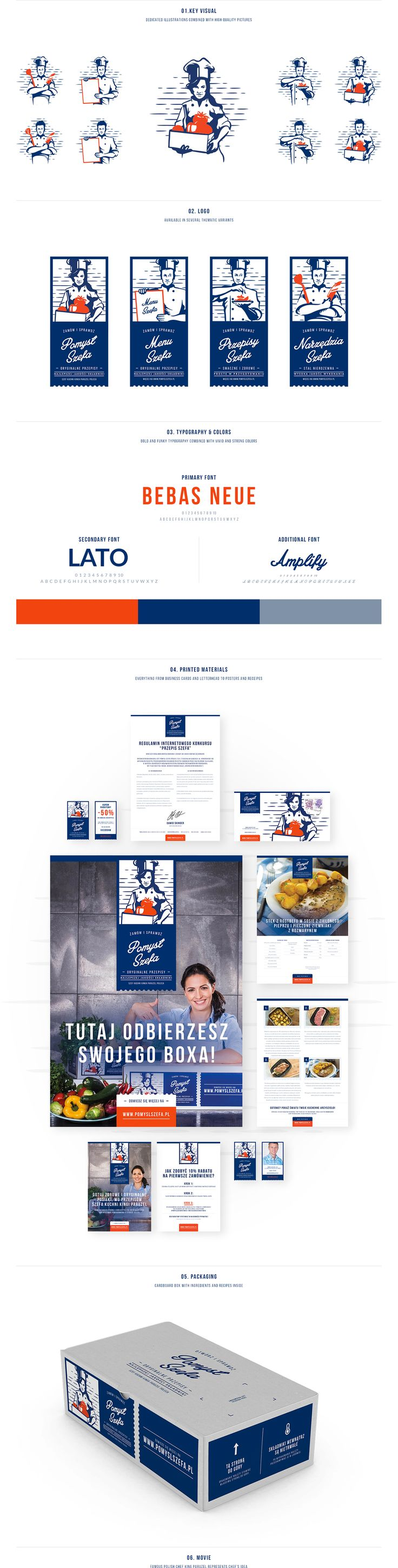 Chef's Idea - Visual identification on Behance