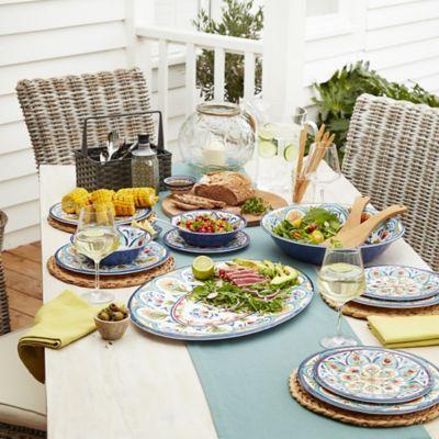 Amalfi Melamine Tableware in outdoor tableware at Lakeland
