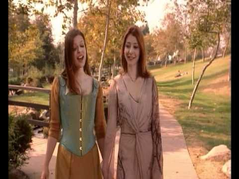 Willow and Tara  Not much to do with faeries, but I love this scene beyond words, and Tara's dress!!!!  <3