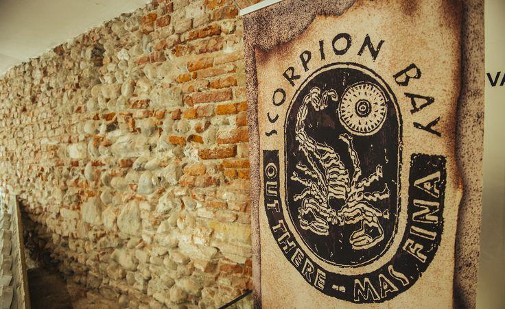 La sala Underground del Lu.C.C.A. Museum allestita Scorpion Bay