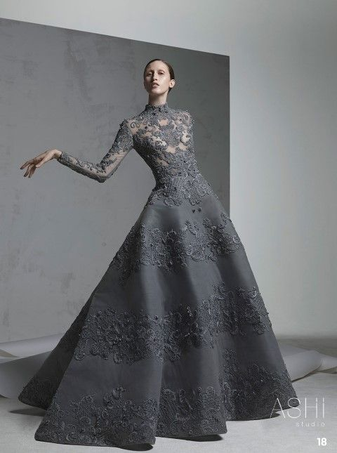 @Maysociety Ashi Studio Fall Winter 2016 2017 Couture Collection