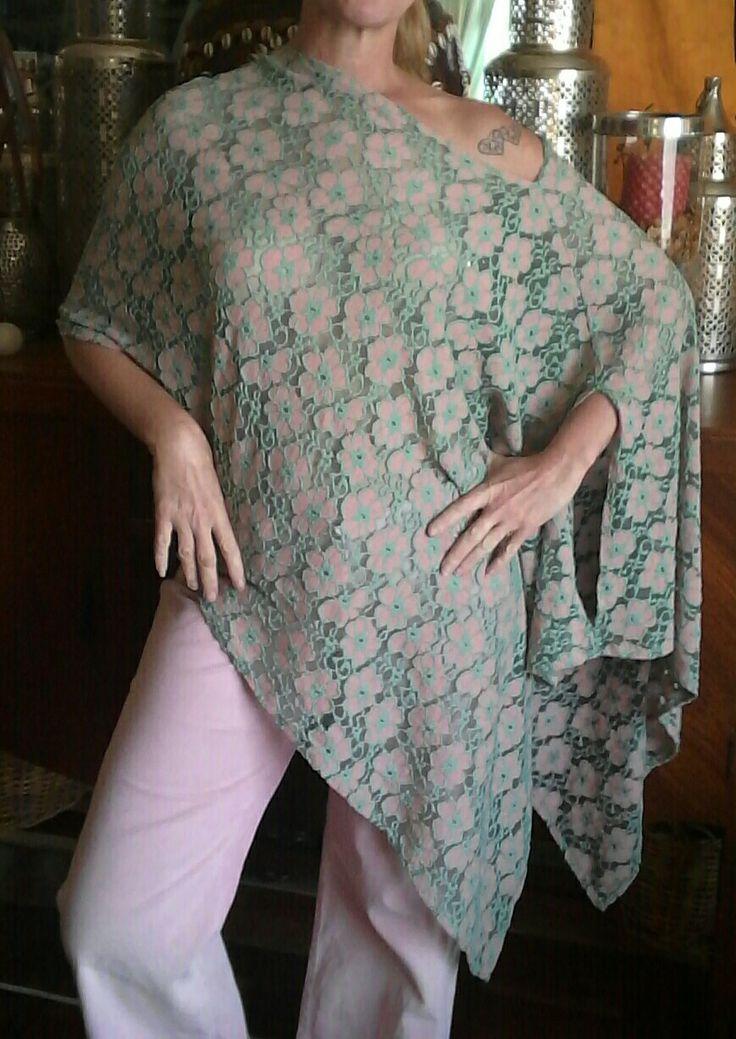 Lace shawl top by ecofriendzy