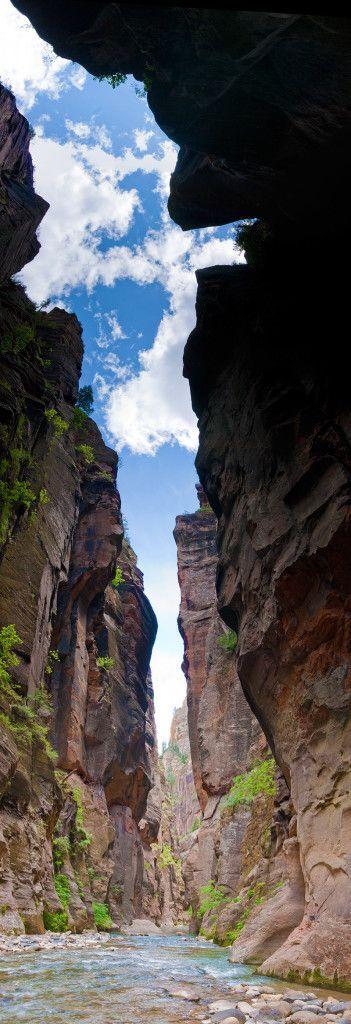 Zion's Narrows let's hike it