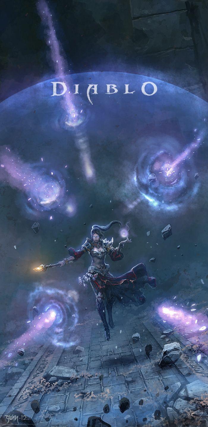Wizard Unleashed by ChaoyuanXu.deviantart.com on @deviantART