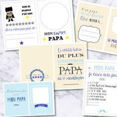 {Free} Un book pour les papas à imprimer et à compléter! | Free printable book father day by Moma