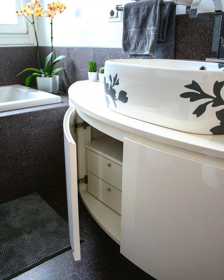 oltre 25 fantastiche idee su arredo bagno bianco su pinterest ... - Cassettiera Arredo Bagno