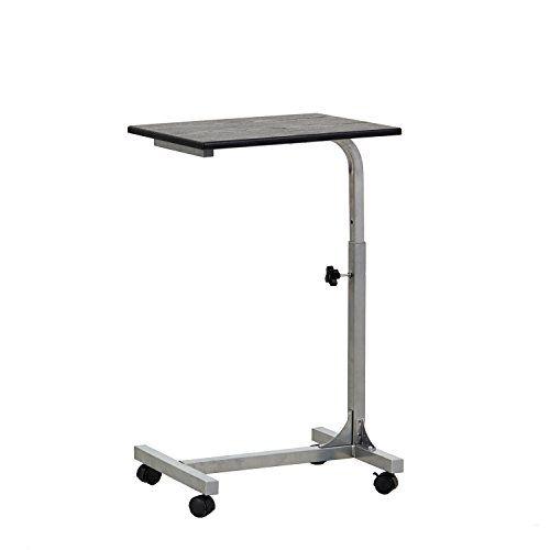 FurnitureR Height Adjustable Mobile Laptop Computer Desk Tray on Weels, BLACK 1 No description (Barcode EAN = 0600740290435). http://www.comparestoreprices.co.uk/december-2016-3/furniturer-height-adjustable-mobile-laptop-computer-desk-tray-on-weels-black-1.asp