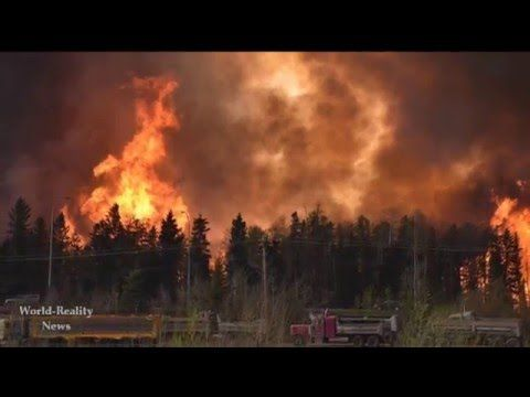 WildFire at Fort McMurray, Alberta, Canada Forces Mandatory Evacuation [...