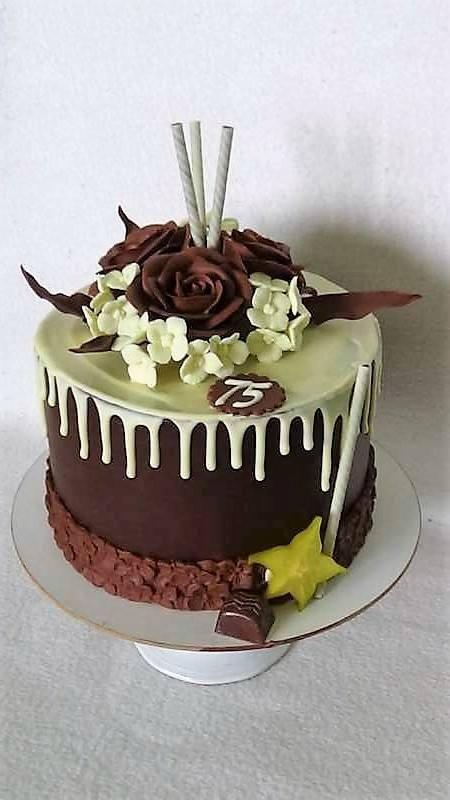 Drip torta s čokoružami torta, Autorka: Stanula, Tortyodmamy.sk