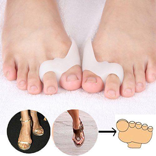 LEAGY Feet Care Two Hole Feet Care Hallux Valgus Orthotics Toe Separator Corrective Insoles Health Care Product (③) LEAGY http://www.amazon.com/dp/B00T995YJA/ref=cm_sw_r_pi_dp_W0Dnwb0KP3CNY