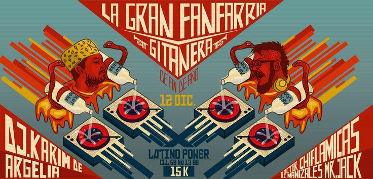 Poster Folka fin de año 2014