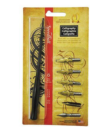Calligraphy Pen Set #zulily #zulilyfinds