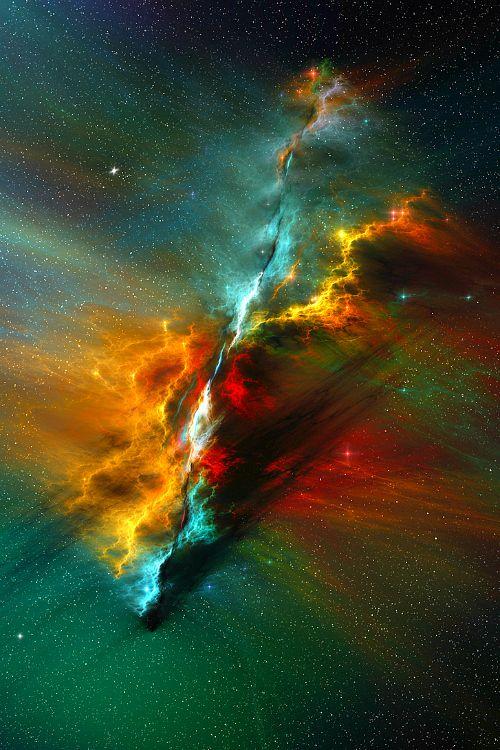 The Serenity Nebula    SCIENCE BONER  #Universeisbeautiful