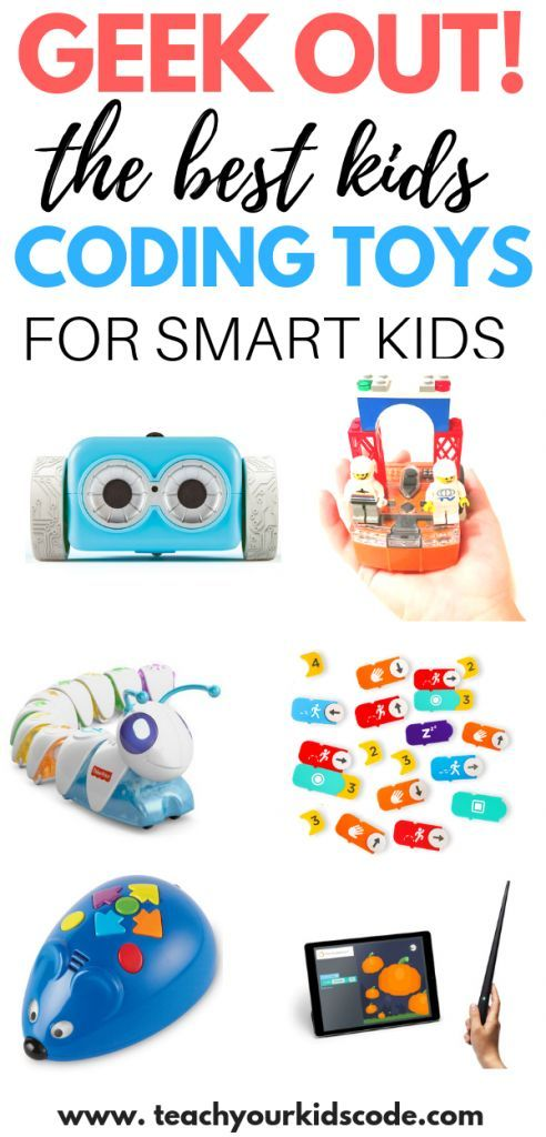 Geek out with your kids! These awesome kids coding toys are the perfect kids christmas gifts toys. If your kids love tech gadgets, check out these awe…