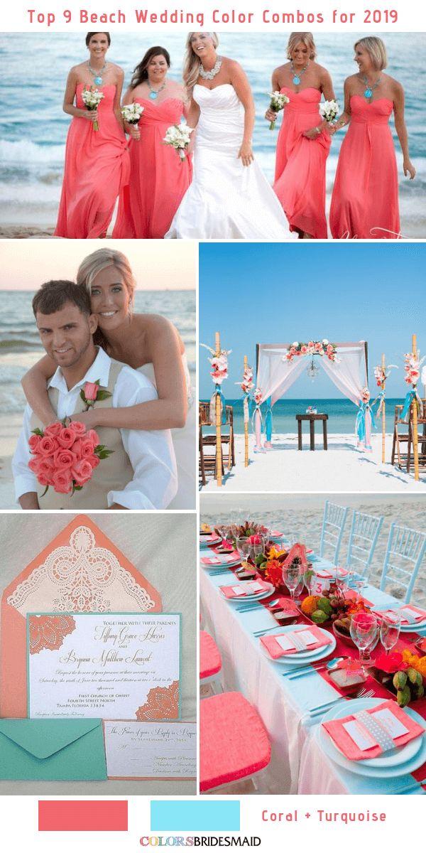 Top 9 Beach Wedding Color Combos Ideas For 2019 No 5