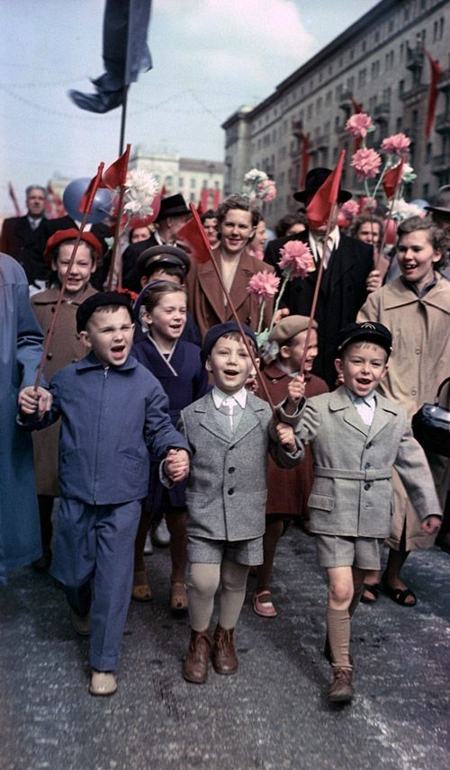 1 de mayo, Moscú, 1960