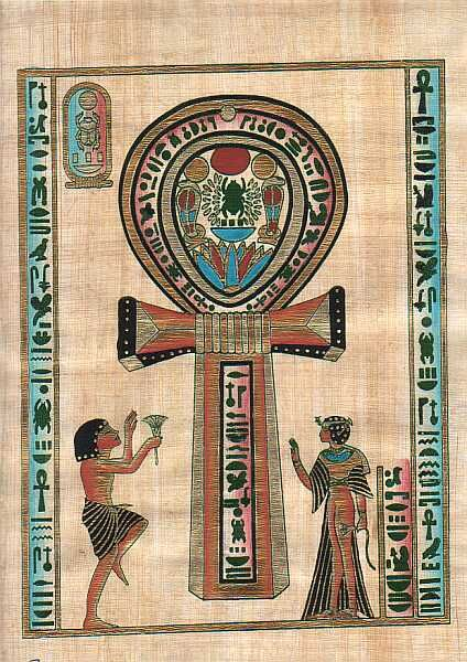 """The ankh, also known as key of life, was the ancient Egyptian hieroglyphic character that read """"eternal life""""."""