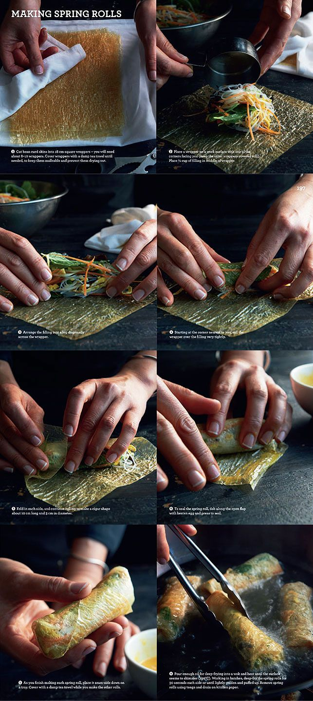 Chinese Spring Roll Recipe by Kylie Kwong