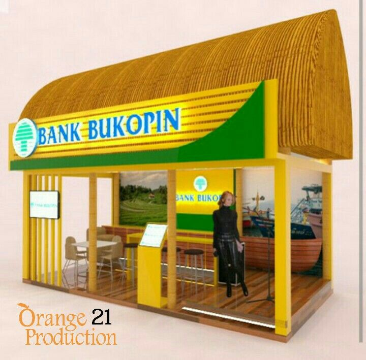 Design booth bank bukopin