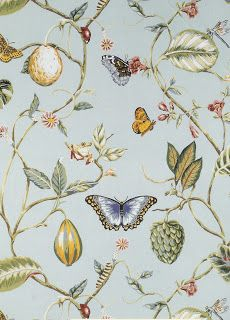 ~ Thibaut, wallpaper - Lillian. WOULD BE CUTE IN GUEST BATH WITH COORDINATING PLAID FABRIC FOR WINDOW.